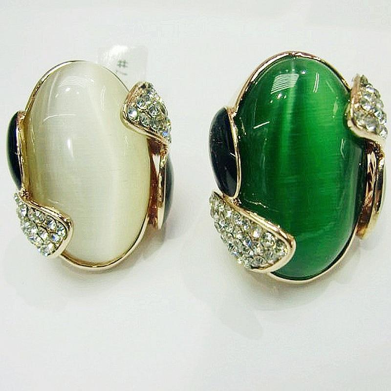 Aliexpress.com : Buy FishSheep Big Opal Stone Ring For