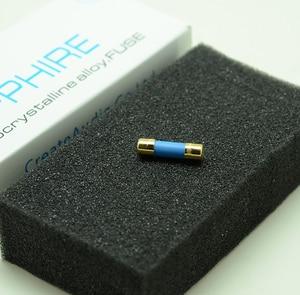 Image 2 - Stwórz AUDIO Sapphire 20mm nano eutektyczny bezpiecznik stopowy 0,5a 1A 2A 3A 5A 8A dla Hifi Audio diy amp CD DAC DVD gramofon