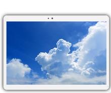 """4G LTE K109 1920×1200 del Androide 7.0 PC de la Tableta Tab 10.1 Pulgadas IPS Octa Core 4 GB + 32 GB 64 GB Dual SIM Tarjeta de Llamada Telefónica 10.1 """"Phablet"""
