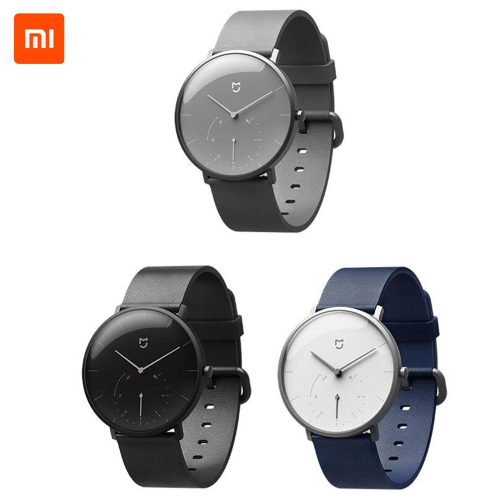 Nouveau Original Xiaomi Mijia étanche montre à Quartz bande intelligente Bluetooth podomètre automatique calibrage temps vibrer Intelligent