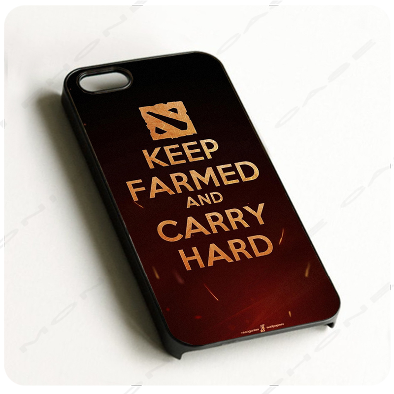 online shop dota 2 keep farmed black hard skin mobile phone cases