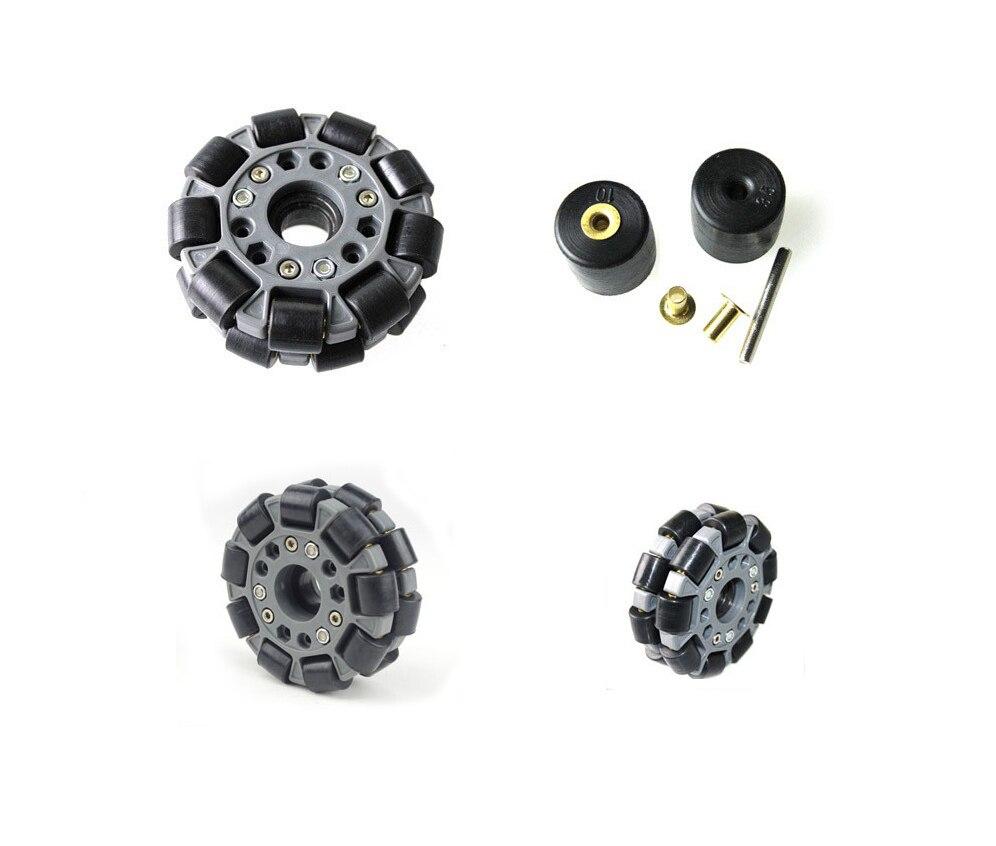 UniHobby UH149 100mm Plastic omni wheels