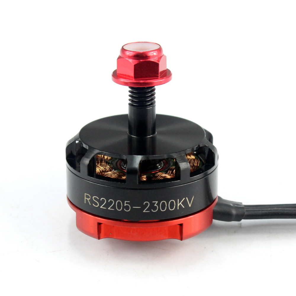 RS2205 2300kv CW CCW Brushless Motor for FPV RC Racer Quad Motor FPV Multicopter Drone original emax rs1104 5250kv brushless motor t2345 tri blades propellers cw ccw props for 130 rc brushless racer drone q20400