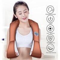 MZ HOT Knocking Massager U Shape Electric Shiatsu Back Neck Shoulder Vibrate Massage Cervical Health Care