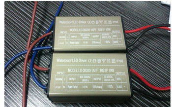 10W LED Driver Power Supply Waterproof Outdoor 300MA For LED Strip light Lamp 20pcs Register Free ship High Quality + white box