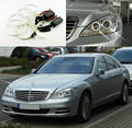 Para Mercedes Benz W221 2010 2011 2012 2013 Excelente kit Angel Eyes faros Ultrabright iluminación CCFL Angel Eyes kit