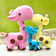 Dog Toys Cartoon Deer Shape Plush Puppy Sound Pet Chew Toy Chihuahua Kids Interactive Cat Dental Teeth