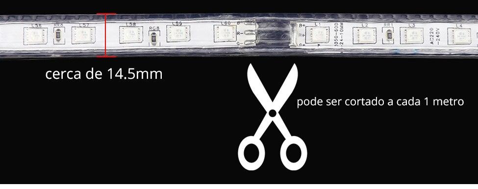 APP e controle remoto RGB LED strip