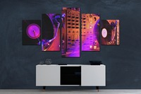 Modular Pictures Print Painting Movie Poster 5 Piece Canvas Art Modern The Wall Kids Room Decoration