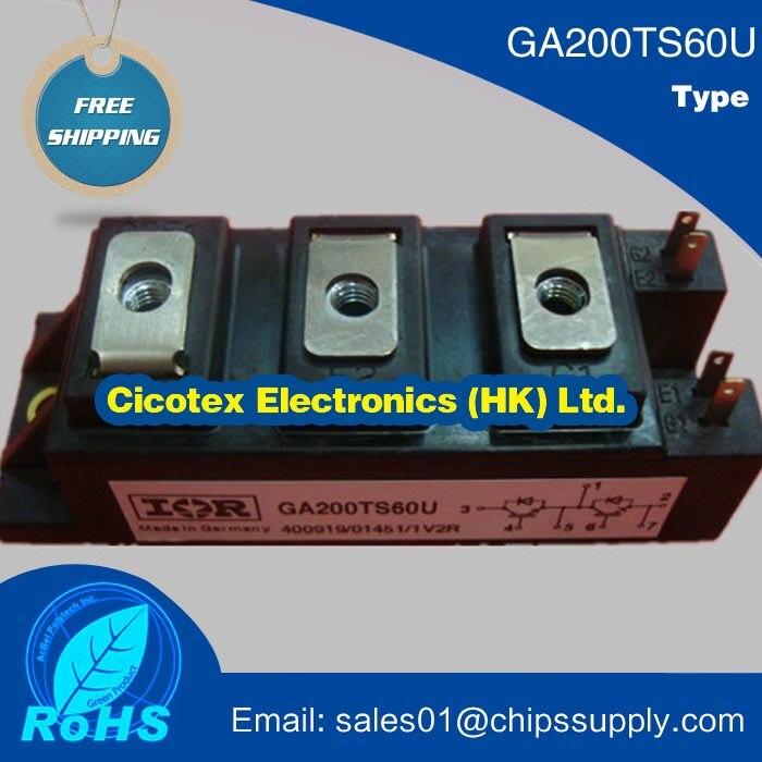 GA200TS60U HALF-BRIDGE IGBT INT-A-PAK Ultra-Fast Speed IGBTGA200TS60U HALF-BRIDGE IGBT INT-A-PAK Ultra-Fast Speed IGBT