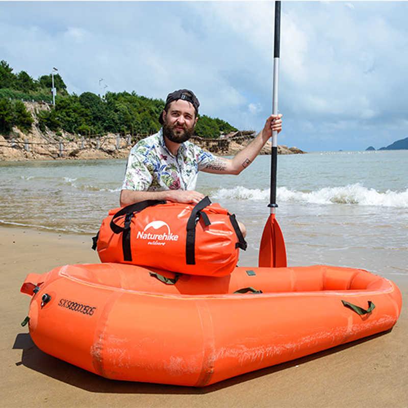 40L/60L/90L/120L Waterproof 20000mm Swimming Kayaking Dry Bag Duffel Bag Sport Luggage Shoulder Bag With Double Shoulder Straps