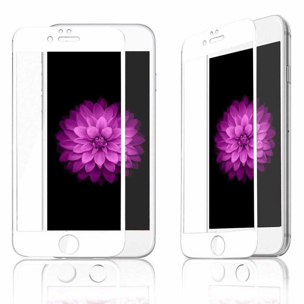 5d permukaan melengkung kaca tempered untuk apple iphone 7 8 x kaca - Aksesori dan suku cadang ponsel - Foto 6