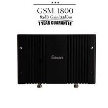 Крышка 1800 Квадратных Метров GSM/DCS 1800 мГц Мобильный дб Усиления Усилитель сигнала Сотовый Телефон Ретранслятор 33dBm Большой Мощности усилитель