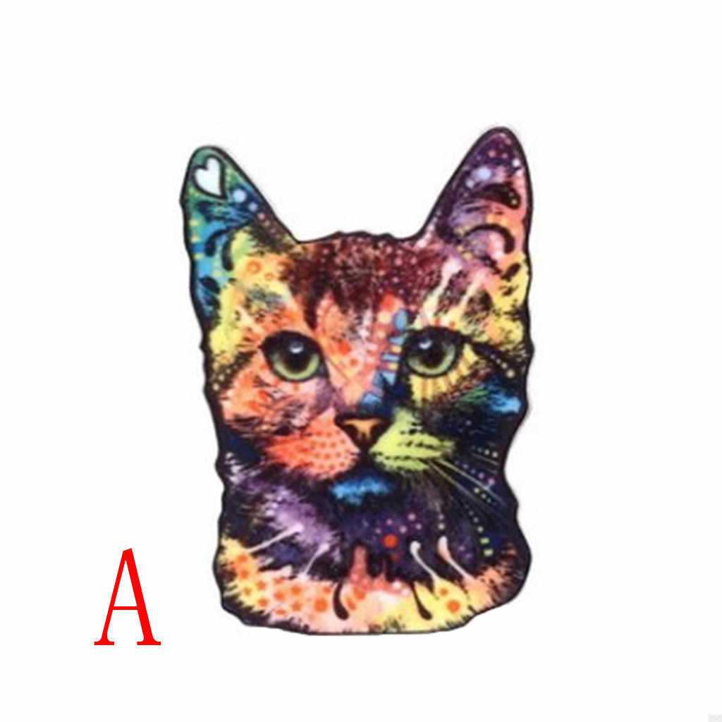 Cute Animal Pattern Cat Brooch For Party Acrylic Enamel Pin Animal Brooch For Women Jewelry Accessories Enamel Pin Riverdale F1