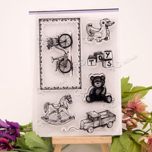NCraft Clear Stamps N1154 Scrapbook Paper Craft Clear stamp scrapbooking
