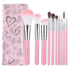 Professnial Makeup Brushes Set Soft Nylon Foundation Powder Blush Contour Concealer Blending Cosmetics Tool Kit