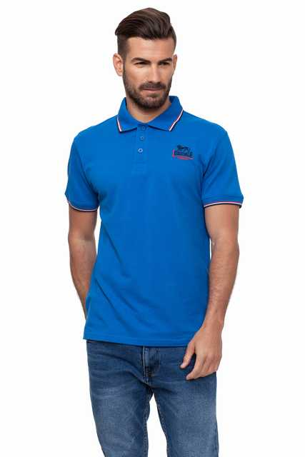 Lonsdale men   Polo   Manga Corta Pique LOUPE19146-4 Color Royal