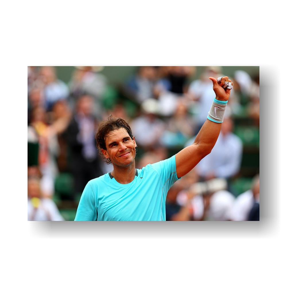 Don T Quit Rafael Nadal Inspirational Quotes Art Silk Fabric Poster Print 12x18 16x24 24x36 Custom Canvas Home Decorrafael Nadal Aliexpress
