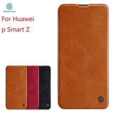 For Huawei P Smart Z Case Cover NILLKIN PU Leather Flip Case For Huawei P Smart Z Cover Flip Phone Case For Huawei P Smart Z цена и фото