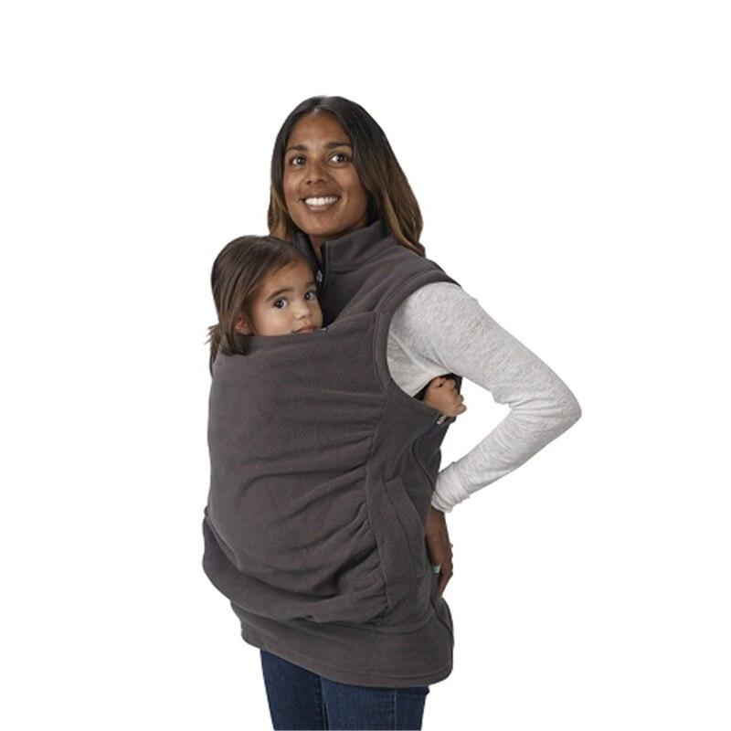 Baby Carrier Jacket Kangaroo Outerwear Women Baby Wear Coat Women Vest Hoodies Women Jacket