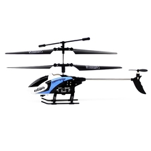 FQ777 610 RC Helicopter Mode2 3.5CH 6-Axis Gyro RTF Infrared Remote Control Helicopter 3D Unlimited Eversion With LED Light