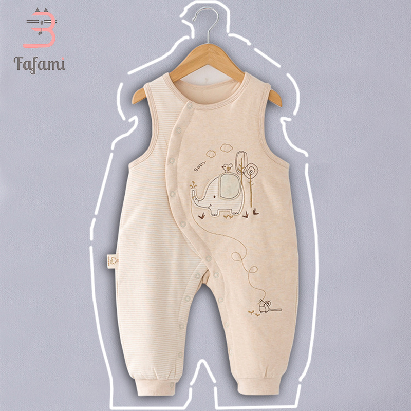 CLEARANCE SALE Baby rompers winter parka for newborn baby clothes Organic cotton baby girl boy clothing baby Jumpsuit romper