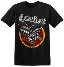 Judas Priest T Shirt Cool Black Graphic Print Retro Vintage Band Tees 1 A 169 Lnew Arrival