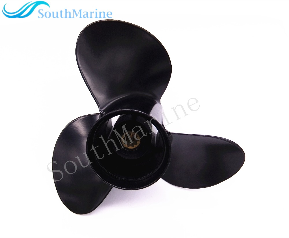 US $48 71 16% OFF|Boat Engine Aluminum Propeller 10 1/4X11 K for Suzuki  Johnson Evinrude OMC 25HP 30HP Outboard Motor 10 1/4 X 11K-in Boat Engine  from