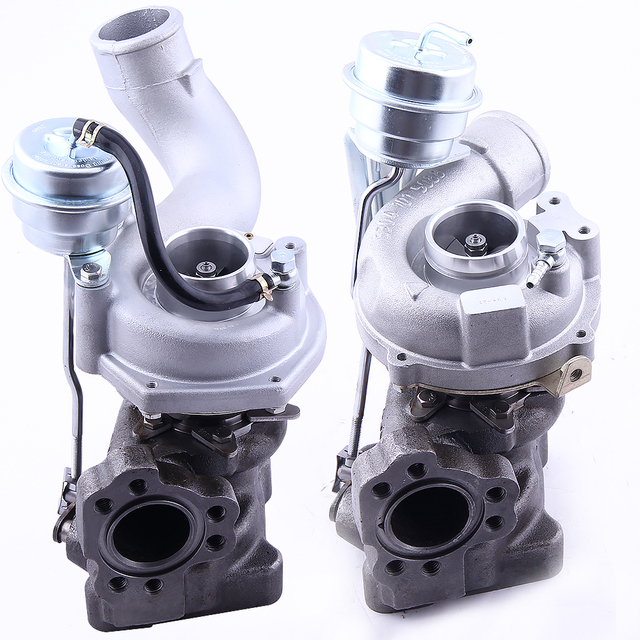 Twin Turbo Kit For Audi Rs4: Twin Turbo For Audi RS4 S4 A6 Allroda Quattro 2.7L K04 025