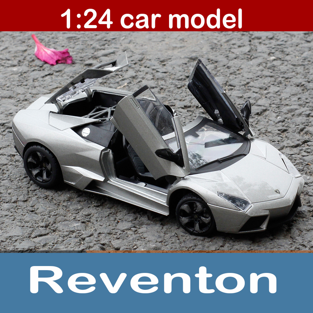 Toys & Hobbies 1:24 Aventador Lp700-4 Alloy Static Car Model Sportscar Limited Edition Model Color Box Package Toys Gift For Boy