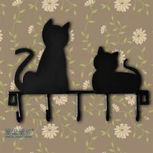 New Arrival Smallsweet Metal Pastoral Animal Figurines & Miniatures black cat Home Decoration Accessories Vintage Home Decor
