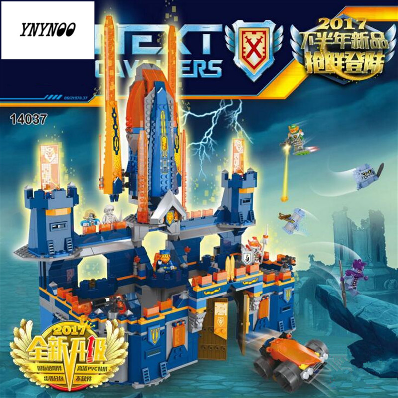 YNYNOO Second Half of the Latest Future Knights Building Blocks LEPIN 14037 1295Pcs Educational Bricks Kits Toy Model Toys the future sound of london the future sound of london teachings from the electronic brain