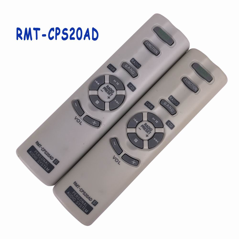 Used Original RMT-CPS20AD RMT CPS20AD Remote Control For Sony PERSONAL AUDIO SYSTEM Remoto Controller Fernbedienung used original for philips home system remote control rc2683701 02 313923819902 fernbedienung free shipping