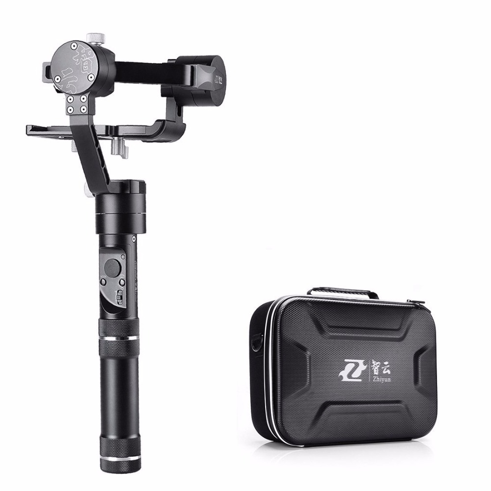 Zhiyun Crane M 3 Axis Handheld Stabilizer Gimbal for DSLR Camera Smartphone GoPro Hero 4 5 Xiaoyi Action Camera dji phantom 2 build in naza gps with zenmuse h3 3d 3 axis gimbal for gopro hero 3 camera