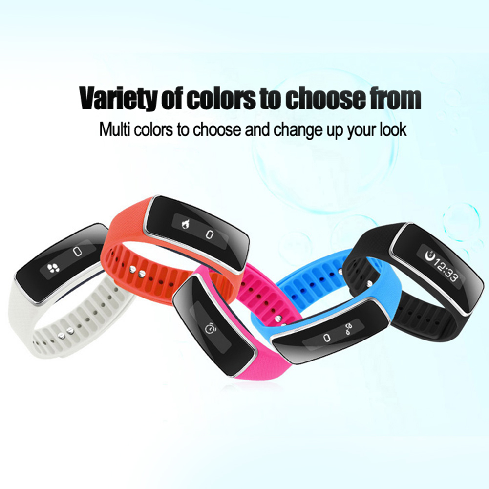 V5S Smartband Watches Call Reminder Pedometer Bluetooth Smart Bracelet OLED Sport Smart Wristband Fitness for Android