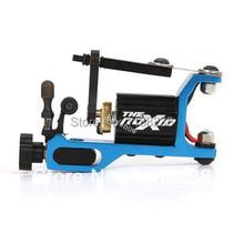 Professional Noxid Rotary Tattoo Machine With Original Swiss Maxon Motor Blue Permanent Makeup Machine Liner&Shader FreeShipping