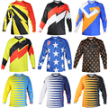 9 color OEM High Quality TLD Air Starburst MX/Offroad Jersey Motorcycle Long-sleeve Large Mesh Fabric T-shirt S M L XL XXL