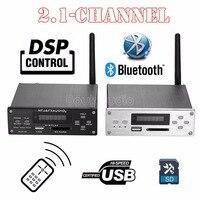 2018 Últimas Nobsound Bluetooth 2.1 Canales 4.0 DSP de Alta Potencia Amplificador Digital HiFi Lossless Reproductor de Audio Amplificador Pequeño Escritorio