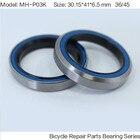MH-P03K Bearing 30.15*41*6.5 mm 36/45 ( 1 PC ) Balls Bicycle 1-1/8 Inch Headset Repair Parts Ball Bearings