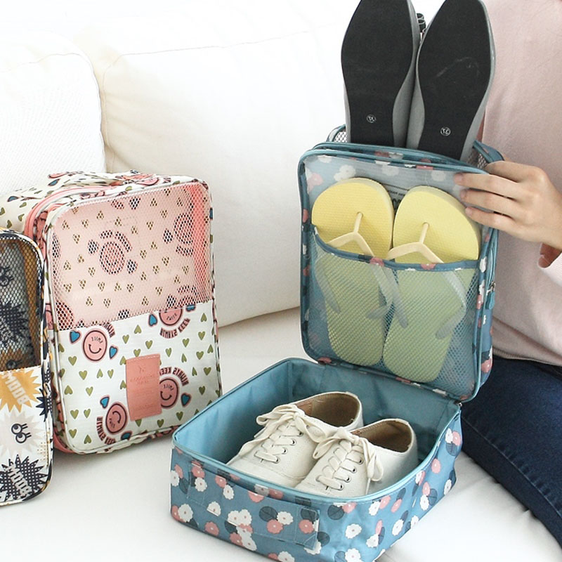 BAKINGCHEF Shoes Woman Storage Clothes Underwear Bra Pantie Organization Travel Cosmetic Bag Weekend Accessories Supplies Cases