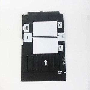 Image 2 - הזרקת דיו הדפסת אסתרא Kit 100pcs ריק הזרקת דיו PVC כרטיס + 1pc מזהה כרטיס מגש עבור Epson הזרקת דיו מדפסות A50, t50, R280,L800,L805. ..