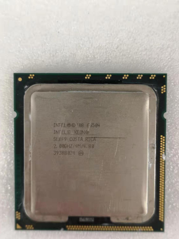 Intel Core 2 Duo E5504 Desktop Processor Dual-Core 2GHz 4MB Cache FSB 1366MHz LGA 775 E 5504 Used CPU