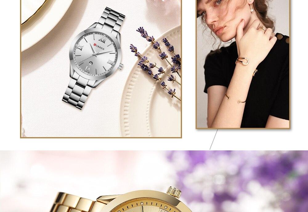 criativo aço pulseira feminina relógios relógio feminino relogio feminino montre femme