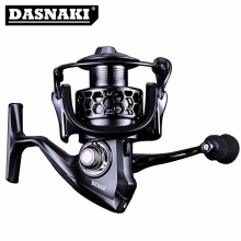 DASNAKI BE saltwater Fishing reel with Aluminum spool CNC fishing handle Carbon Fiber reels Spinning Reel smooth reliable