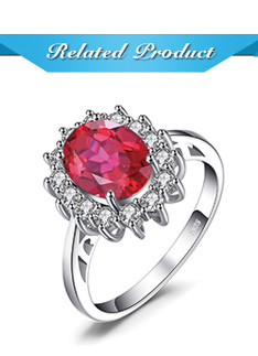 HTB1bB11aLWG3KVjSZPcq6zkbXXaS JewPalace Princess Diana Created Red Ruby Ring 925 Sterling Silver Rings for Women Engagement Ring Silver 925 Gemstones Jewelry