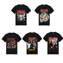 Band AC/DC COSPLAY COSTUME COSPLAY TOP TEE AC/DC T-Shirt COSPLAY Tee(China)