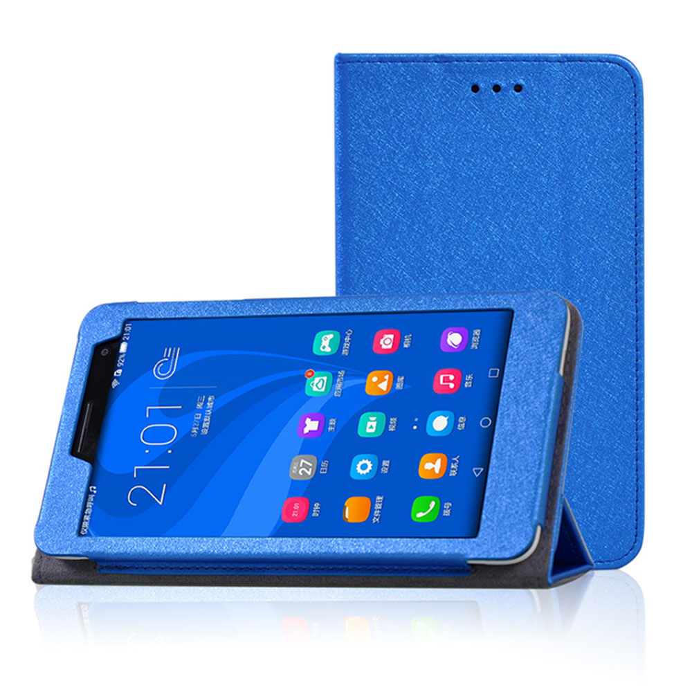 Case For HUWEI Mediapad T1 7.0 Silk Pattern PU Leather Cover For HUAWEI T1 7.0 T1-701U T1-701Ua BGO-DL09 BGO-L03 Tablet+Gift