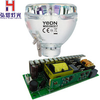 350W lamp 17R+Dedicated switching power supply, for beam 350W YODN moving head beam light bulb stage light