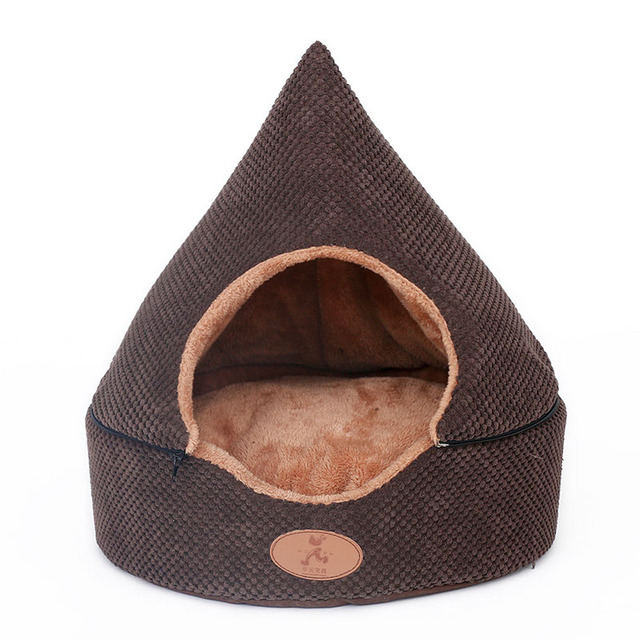 Two Usage Cat Dog Pet Bed House Soft Luxury Small Puppy Sofa Kennel Nest