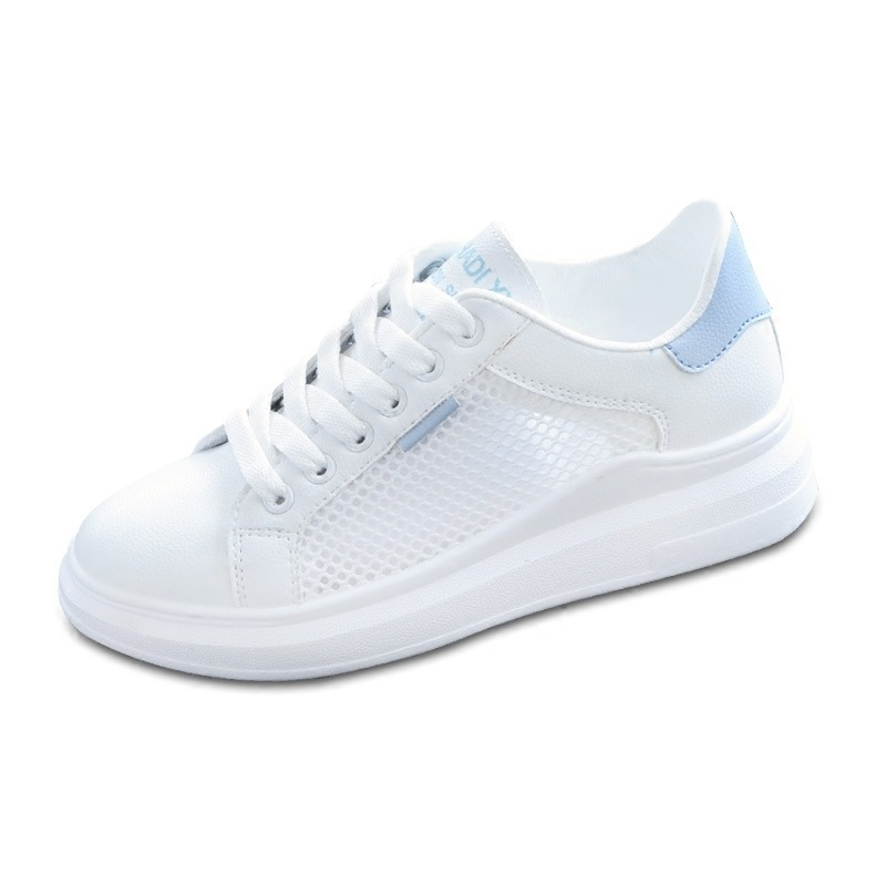 Women Casual Shoes Summer Spring Fashion  Breathable Hollow Lace-Up Sneakers shoes NVX29